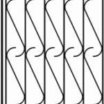 кованные решетка