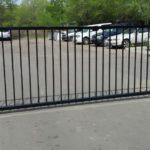 ворота сварные с электроприводом