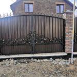ворота кованные ра�пашные