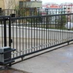 ворота сварные откатные автоматические