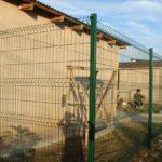 забор из 3d сетки для дачи