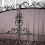 рисунок кованных ворот