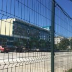 забор из 3d сетки для дома