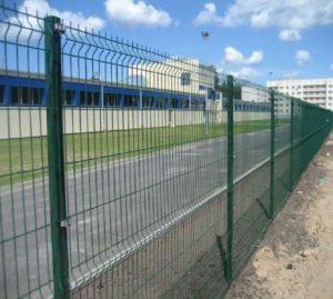 забор из 3D сетки