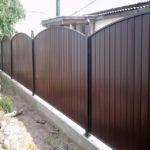 забор в рамке